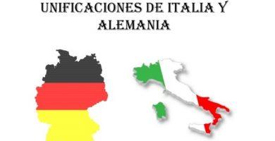 Unificación Italiana y alemana