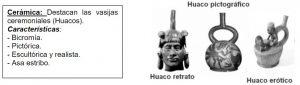 Cultura moche cerámica