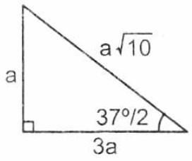 Notable de 37/2 = 18°30'