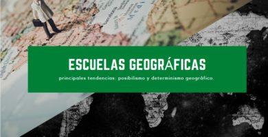 Escuelas geográficas