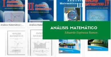 Análisis matemático – Eduardo Espinoza Ramos